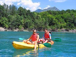 Reizen Canada kayakken