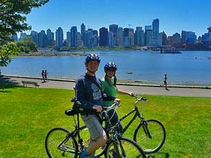 Autoreizen Canada: fietsen Vancouver