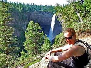 Wells Gray Canada waterval