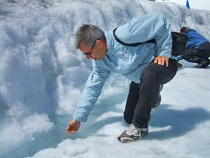 Gletsjer Canada ijsbeekje