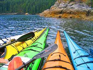 Canada reis: kanovaren