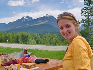 Picknick in Jasper National Park