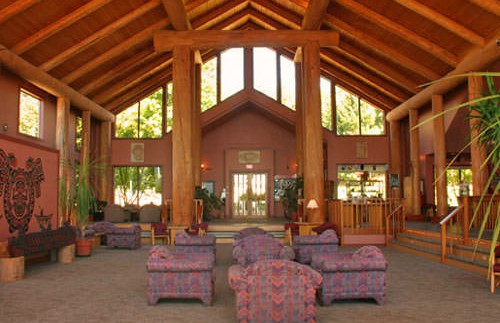 Lounge accommodatie Quadra Island