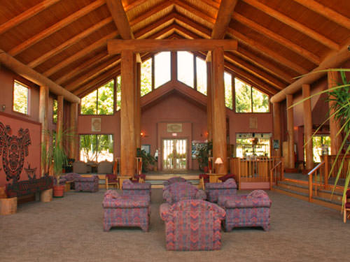 Lounge accommodatie Quadra Island