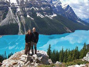 Lake Louise bij Banff