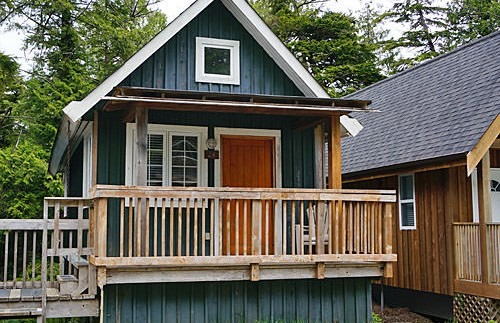 Cottages in Ucluelet