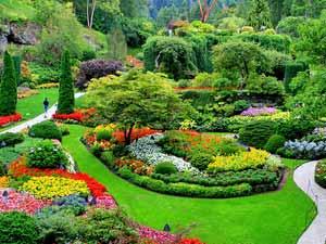 Butchart Garden - Victoria Vancouver Island
