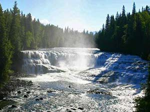 Waterval - Wells Gray