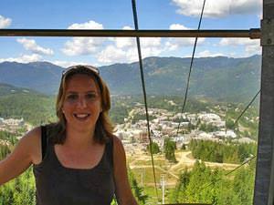 Natuur Canada: gondel Whistler