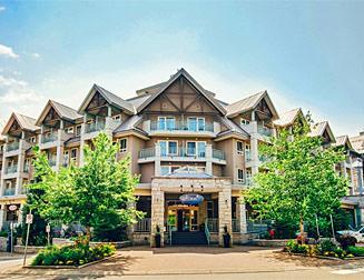 Lodge in het centrum van Whistler