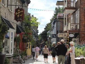 Québec Canada - straatbeeld