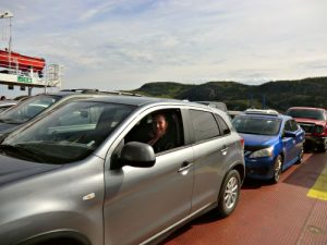 Vertrek Tadoussac - Ferry