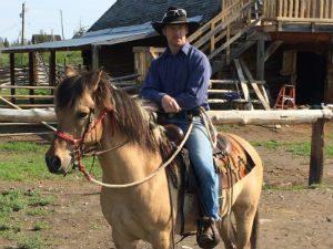 paardrijden Canada cowboy