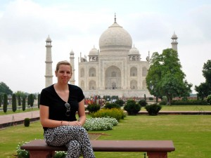 Taj Mahal in Agra Highlight in Indien