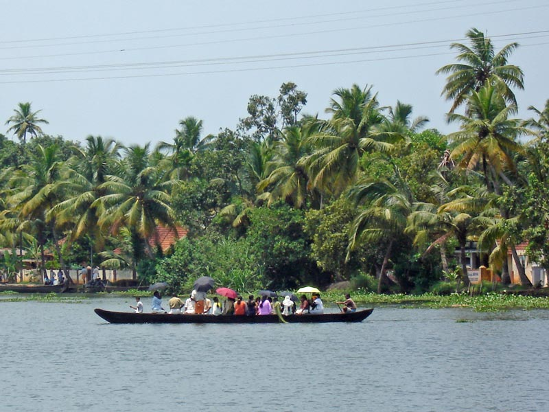 Palmen Backwaters