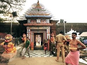Lingaraja Tempels in Bhubaneswar