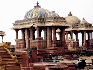 Palastruinen in Bhuj