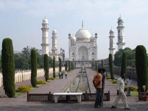 Das Mini- Taj - Kopie vom Taj Mahal