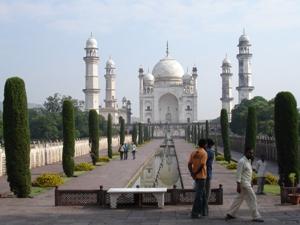 Das Mini-Taj in Aurangabad - Kopie vom Taj Mahal