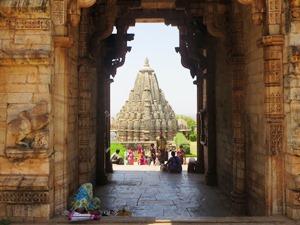 Shiva-Tempel im alten Fort von Chittaurgarh bei Indien Rundreise