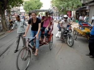 Tour mit der Fahrradrikscha gefällig?