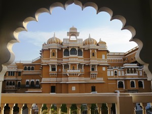 Ein bekanntes Fotomotiv vom Deogarh Mahal