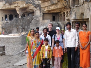 Fotoshooting in Ellora