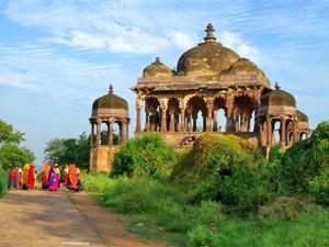 Ranthambore Fort in Rajasthan in Indien