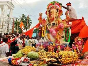 Fest zu Ehren Ganeshas