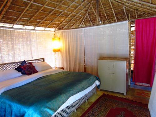 Zimmer im Naturhaus in Goa Indien bei einer Rundreise.