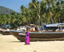 Exotische Strände von Goa