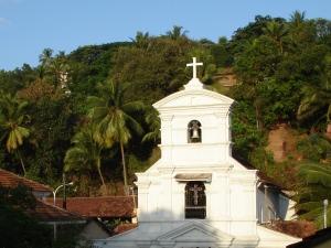 Kirche im historischen Goa