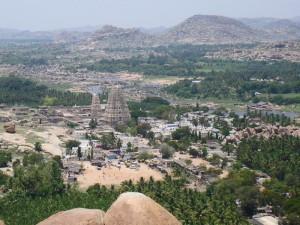 Tempelruinen in Hampi