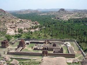 Tempelruinen bei Hampi