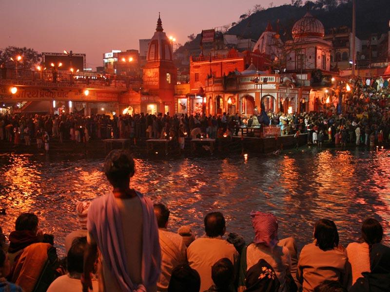 An den Ghats von Varanasi