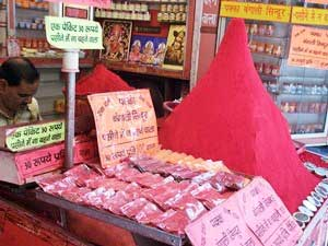 Verkäufer in Haridwar und Rishkesh