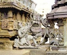 Prachtvolle Tempel von Karnataka