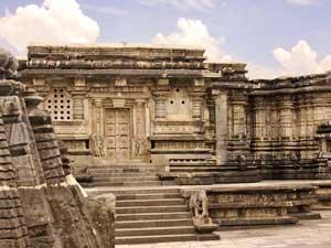 Tempel in Halebidu