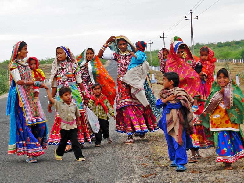 Indien Rundreise mit Kindern Banni Dörfer