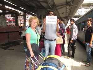 Kunden werden am Bahnhof abgeholt