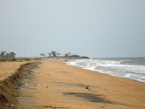 Strand in der Nähe von Puri