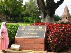 Tempelanlage in Khajurao
