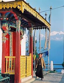 Pemayangtse Kloster in Sikkim .
