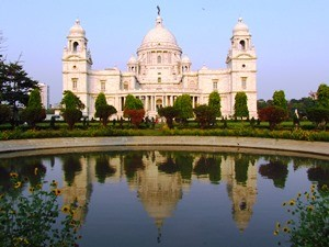 Victoria Memorial in Kolkata bei Indien Reise durch Assam