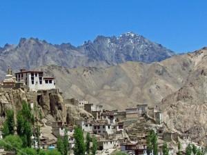 Blick auf das Kloster von Lamayuru