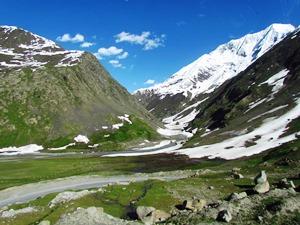 Himalaya Landschaft zwischen Temisgan und Srinagar