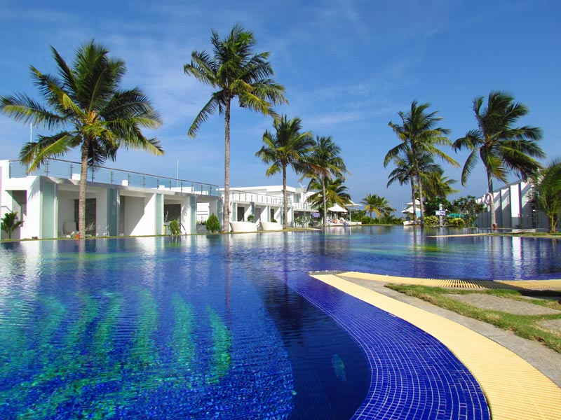 Komfort-Hotel mit Pool in Mamallapuram