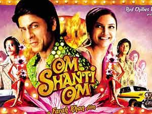 Bollywood Poster - Kinobesuch in Jaipur in Nordindien.