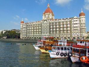 Koloniale Gebäude in Mumbai