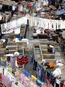 Die Dhobi Ghats: Indiens größter Waschsalon